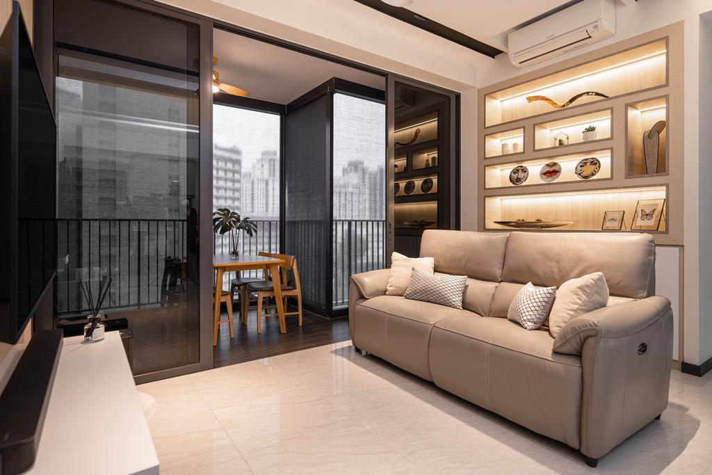 Contemporary, Condo, Balcony, Gem Residences, Interior Designer, The Orange Cube, Scandinavian