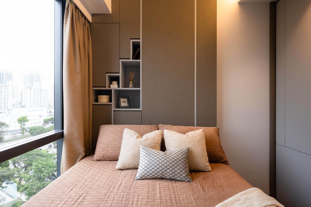 Contemporary, Condo, Bedroom, Gem Residences, Interior Designer, The Orange Cube, Scandinavian