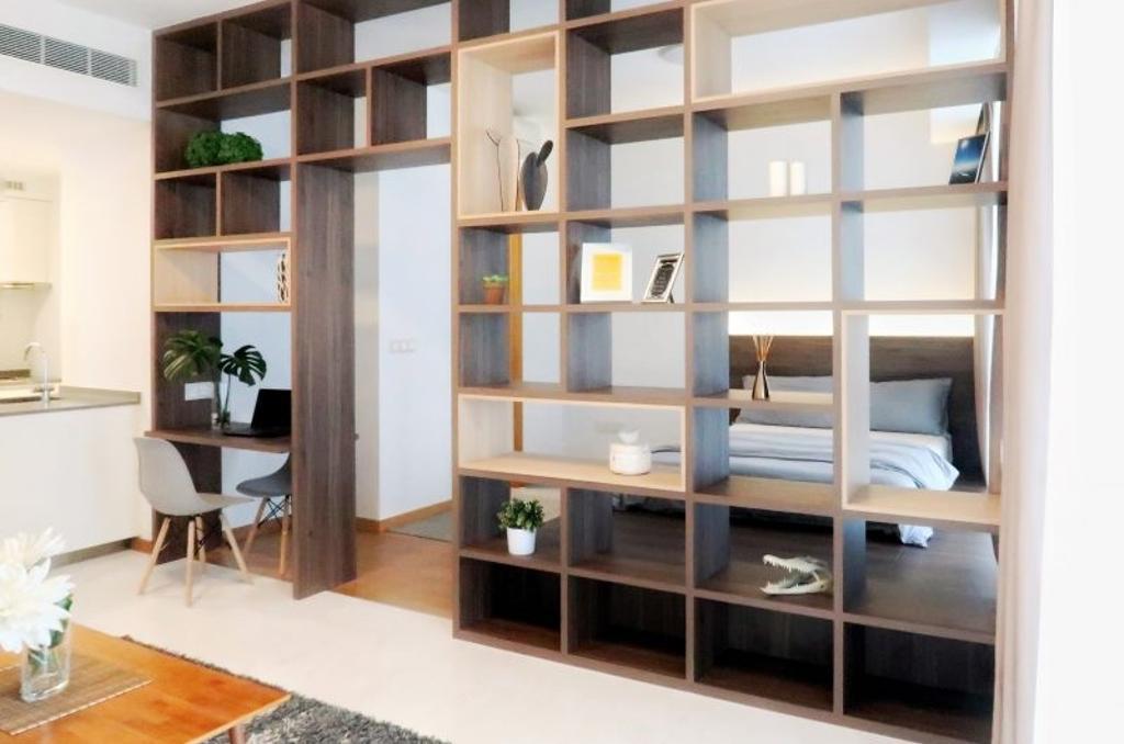 Scandinavian, Condo, Bedroom, Marina One Residences, Interior Designer, The Orange Cube