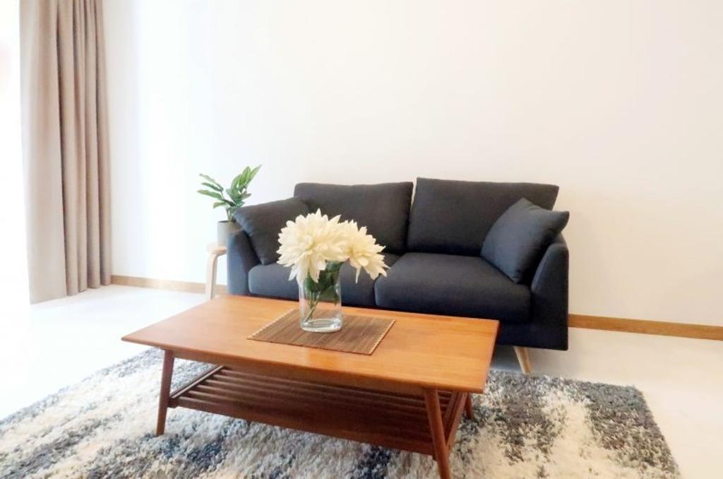 Scandinavian, Condo, Living Room, Marina One Residences, Interior Designer, The Orange Cube