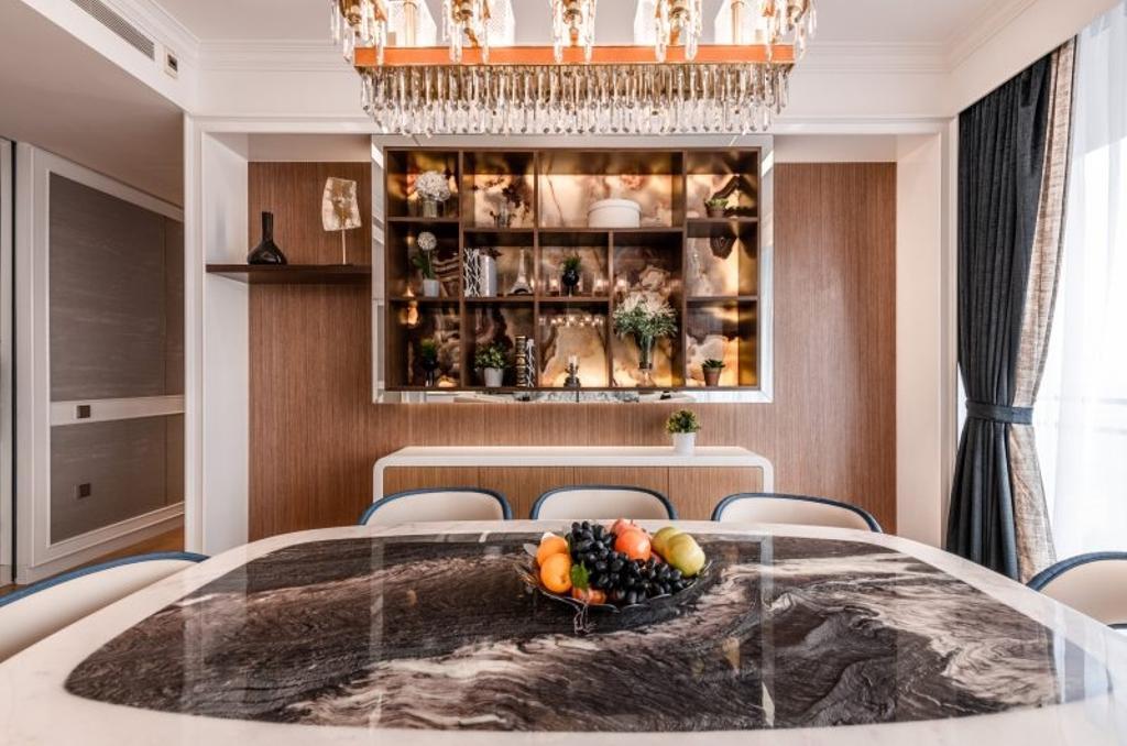 Contemporary, Condo, Dining Room, Hilltops, Interior Designer, The Orange Cube