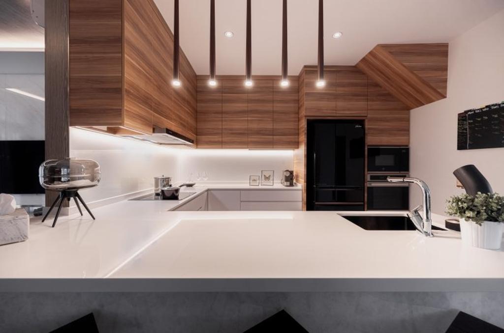 Contemporary, Landed, Kitchen, Muswell Hill, Interior Designer, The Orange Cube, Scandinavian