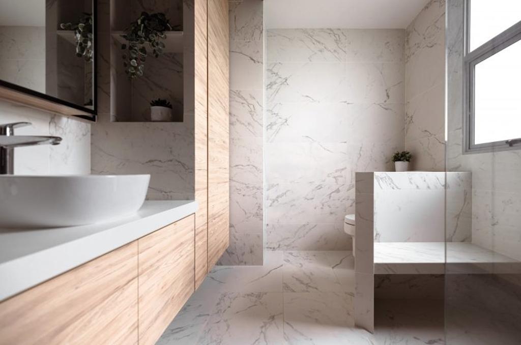 Contemporary, Landed, Bathroom, Muswell Hill, Interior Designer, The Orange Cube, Scandinavian