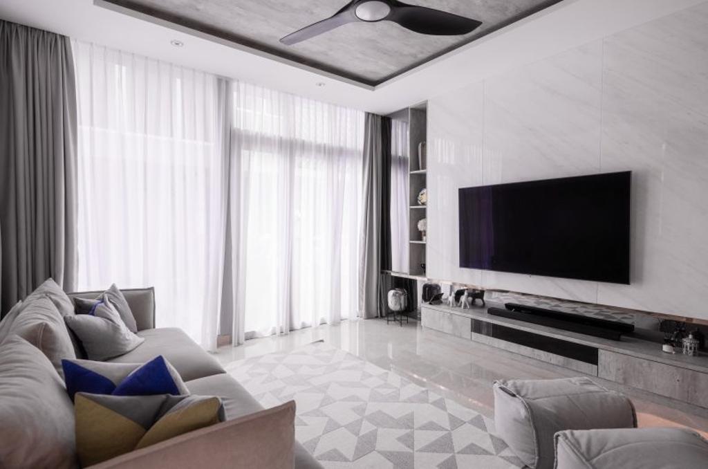 Contemporary, Landed, Living Room, Muswell Hill, Interior Designer, The Orange Cube, Scandinavian