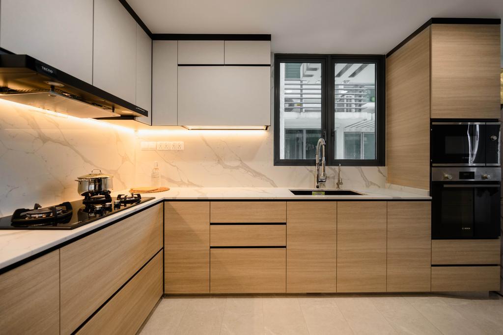 Contemporary, Condo, Kitchen, The Gale, Interior Designer, The Orange Cube, Scandinavian