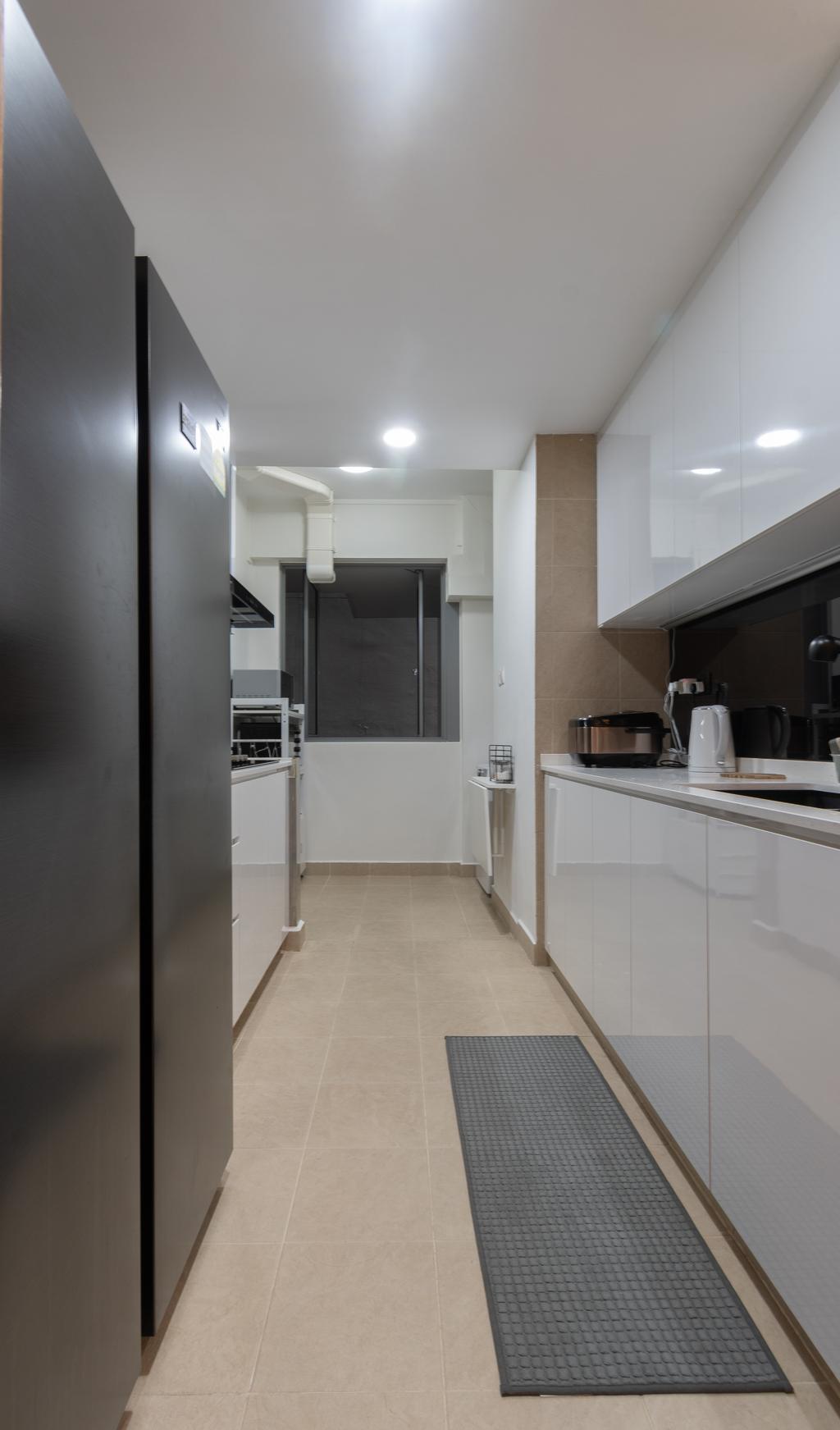Modern, Condo, Kitchen, The Quintet, Interior Designer, The Treehut Studio