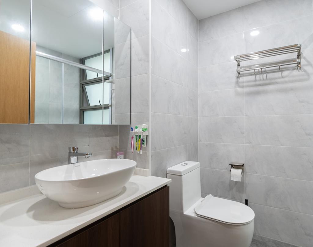 Modern, Condo, Bathroom, The Quintet, Interior Designer, The Treehut Studio