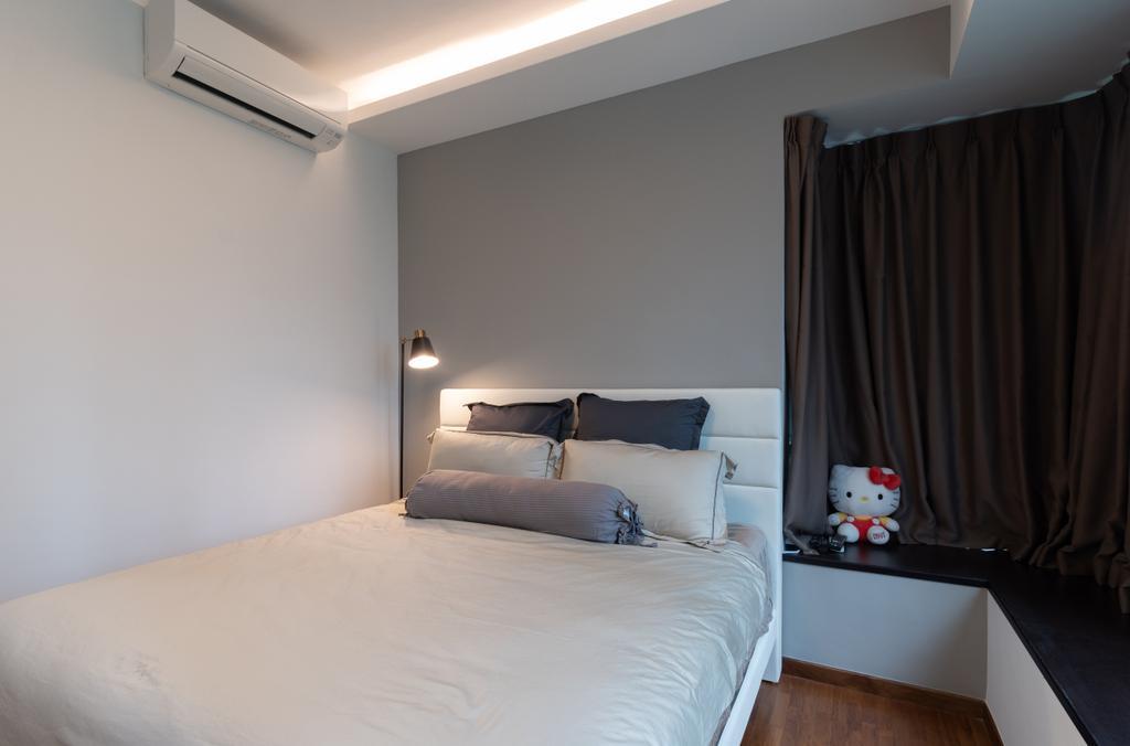 Modern, Condo, Bedroom, The Quintet, Interior Designer, The Treehut Studio