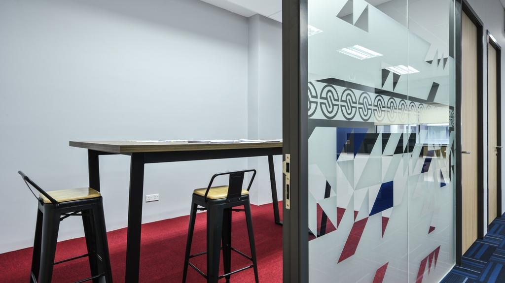 SCIB Level 6, Corporate Office @ Star Central, Cyberjaya, Commercial, Interior Designer, Blaine Robert Design Sdn. Bhd., Industrial, Minimalistic