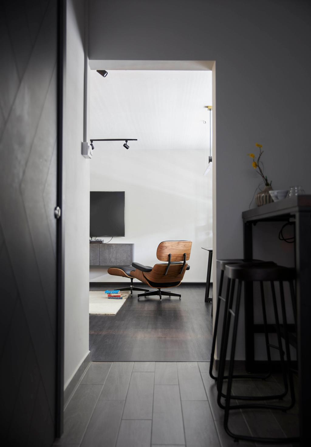 Modern, HDB, Living Room, Kim Keat Link, Interior Designer, The Interior Lab, Scandinavian