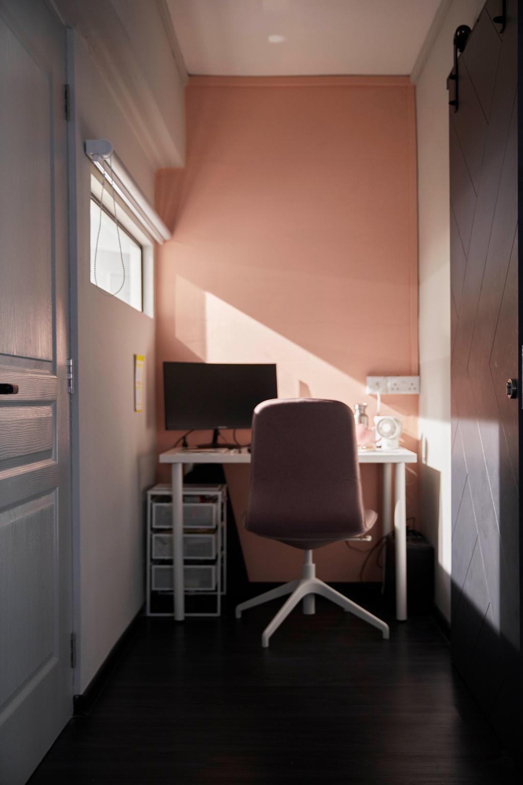 Modern, HDB, Study, Kim Keat Link, Interior Designer, The Interior Lab, Scandinavian