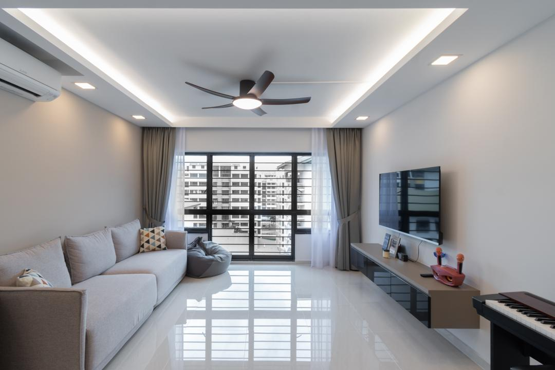 Choa Chu Kang North 6 Living Room Interior Design 8