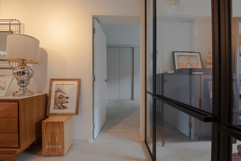 Modern, HDB, Living Room, Bishan, Interior Designer, PHD Posh Home Design, Scandinavian