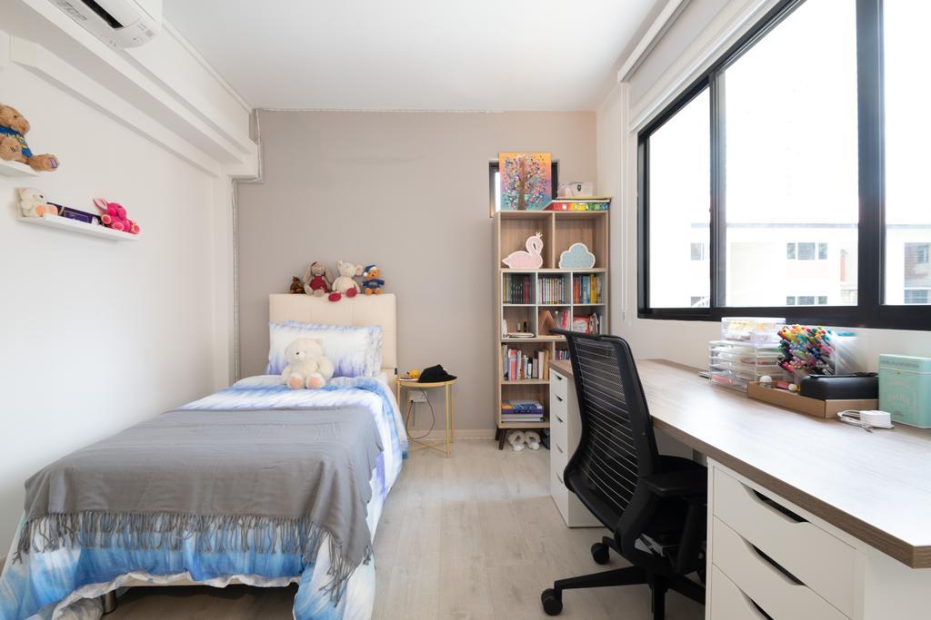 Modern, HDB, Bedroom, Bishan, Interior Designer, PHD Posh Home Design, Scandinavian