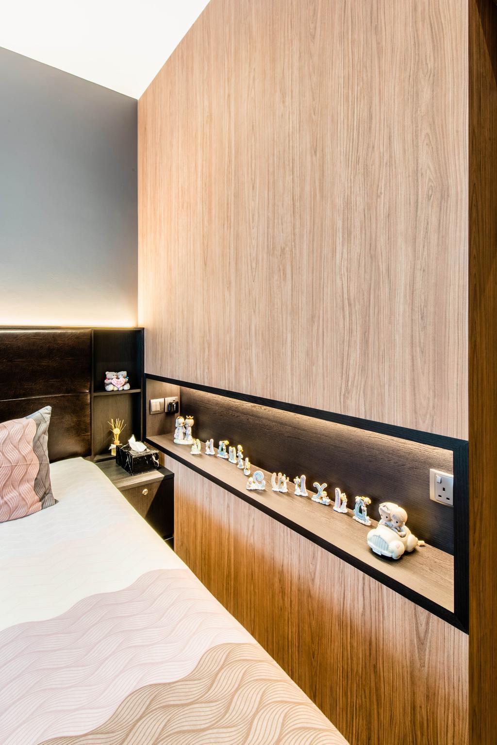 Modern, Condo, Bedroom, The Alps Residences, Interior Designer, Conception Studio, Contemporary