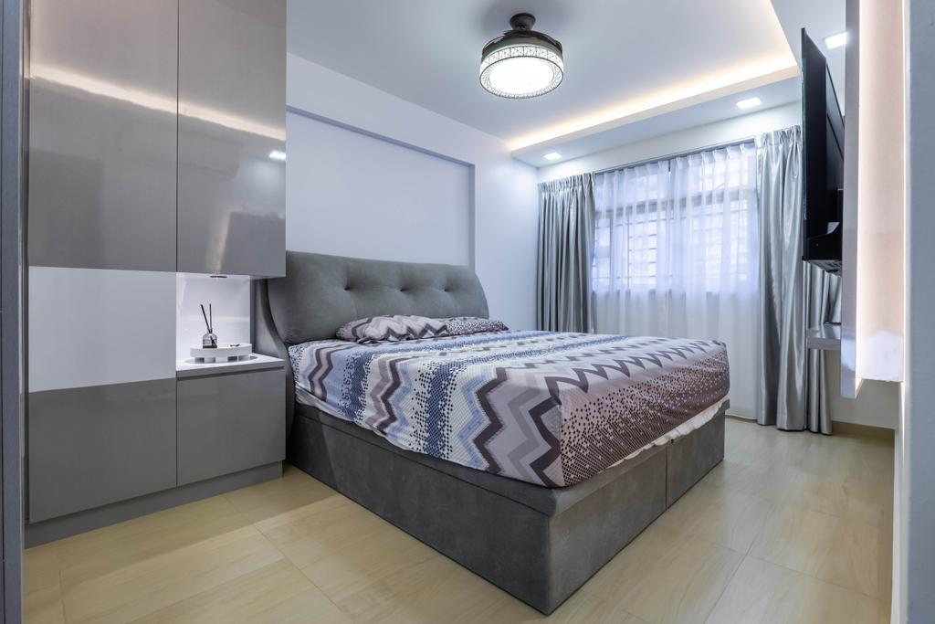 Modern, HDB, Bedroom, Bukit Batok West Avenue 8, Interior Designer, Omni Design