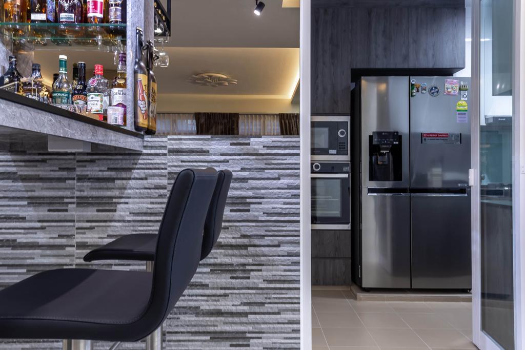 Modern, HDB, Kitchen, Bukit Batok West Avenue 8, Interior Designer, Omni Design