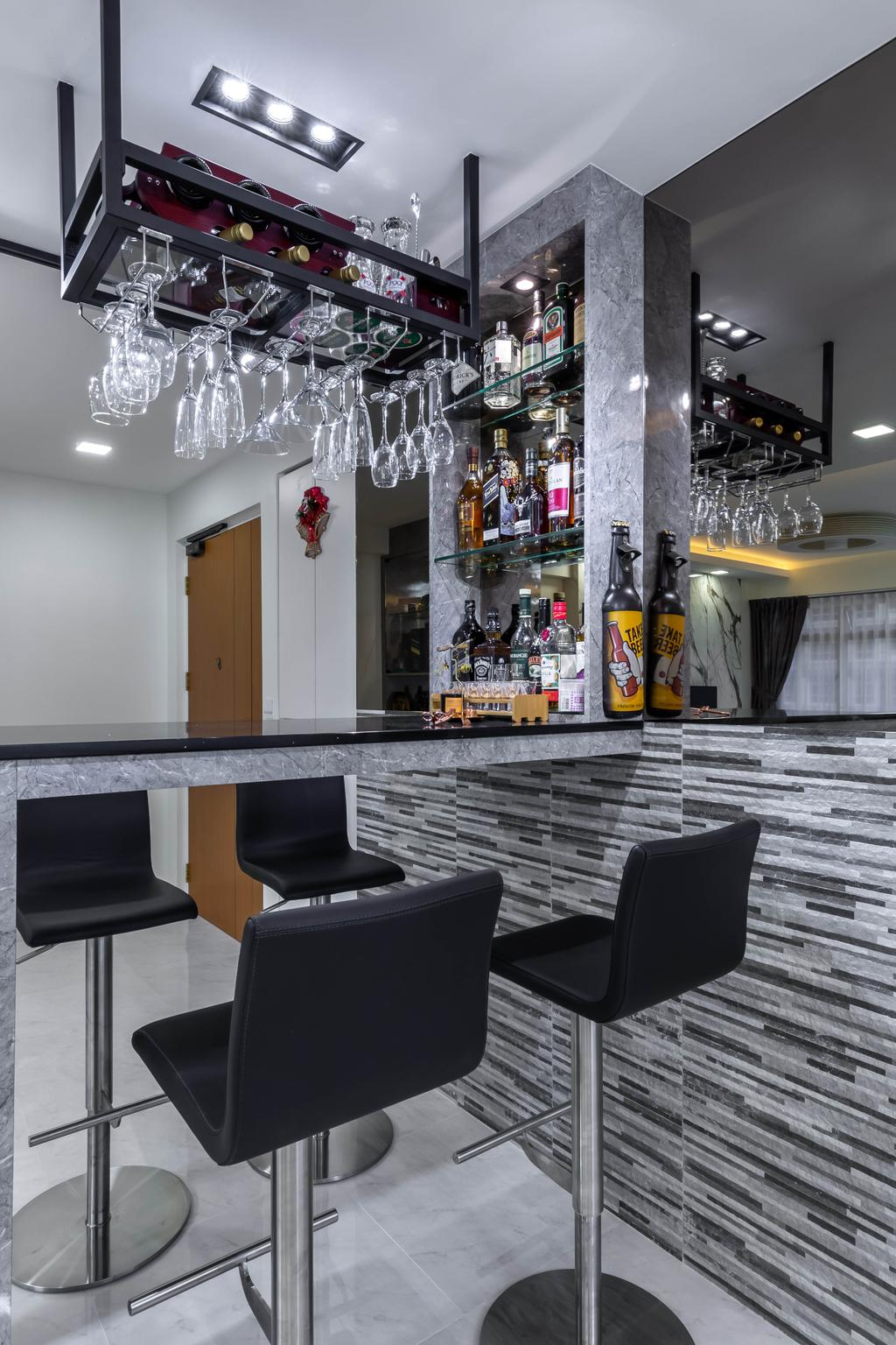 Modern, HDB, Living Room, Bukit Batok West Avenue 8, Interior Designer, Omni Design