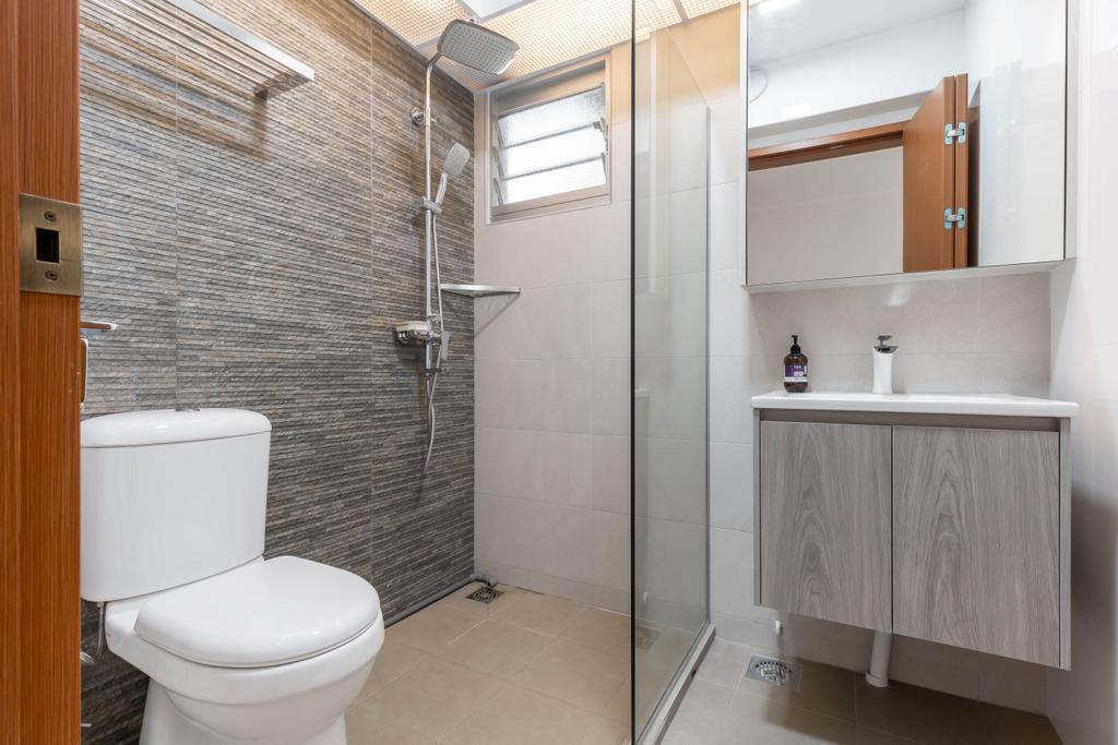 Modern, HDB, Bedroom, Canberra Street, Interior Designer, Interior Times, Scandinavian