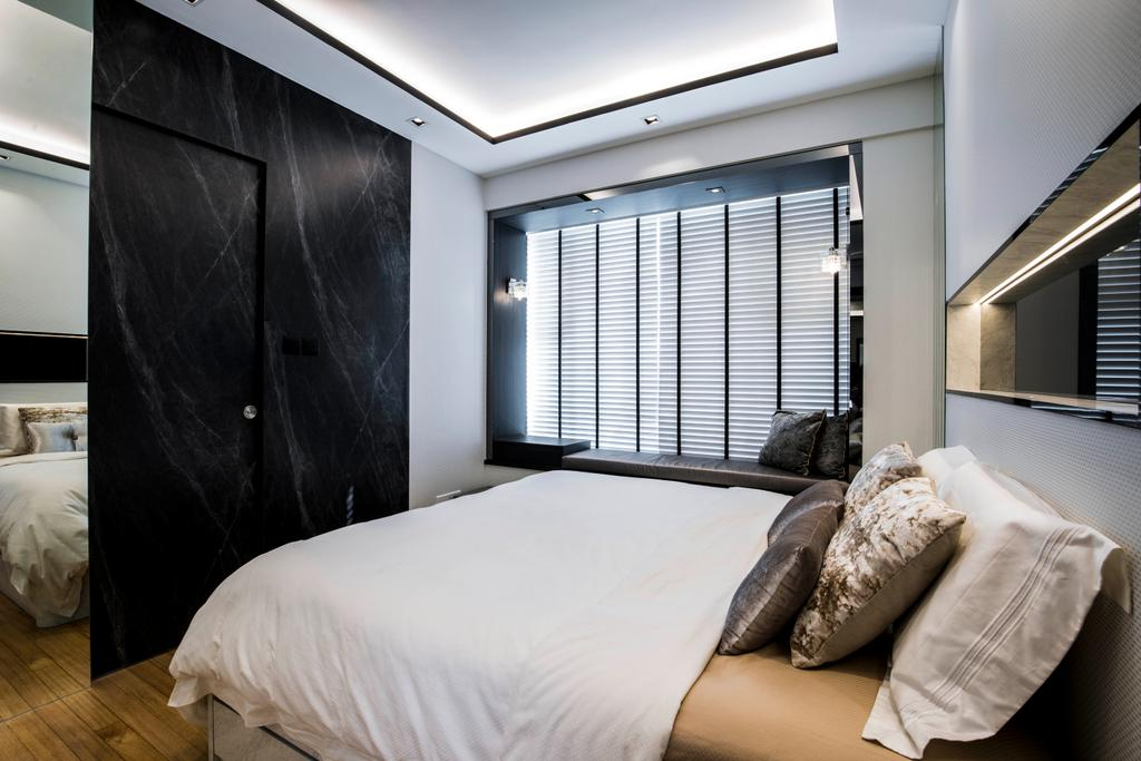 Condo, Bedroom, The Belvedere, Interior Designer, Sky Creation Asia