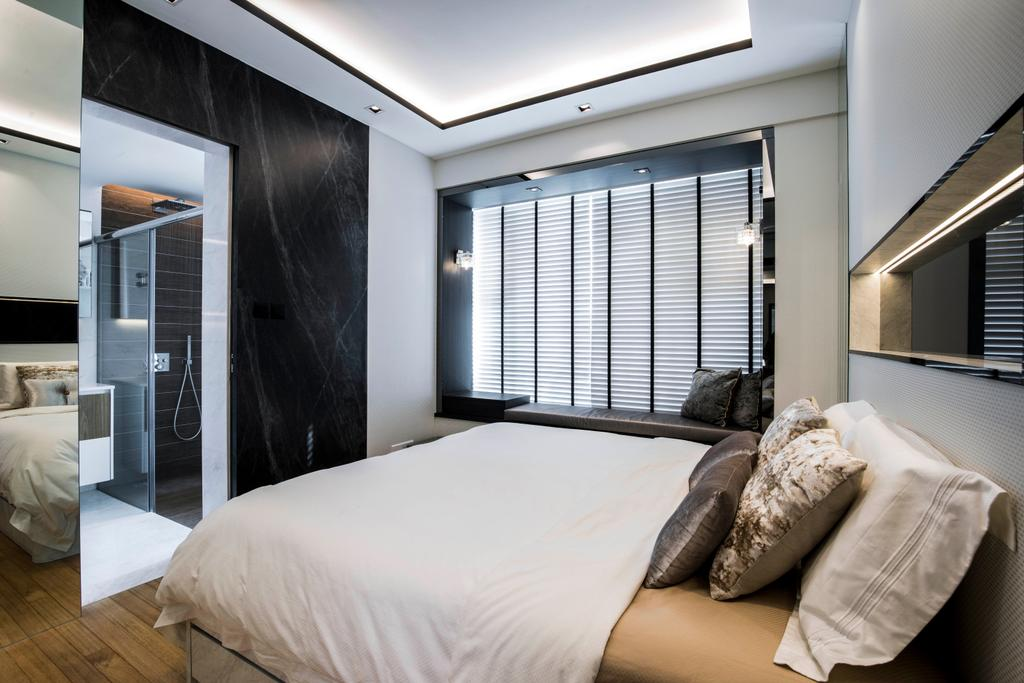 Condo, Bedroom, The Belvedere, Interior Designer, Sky Creation Asia