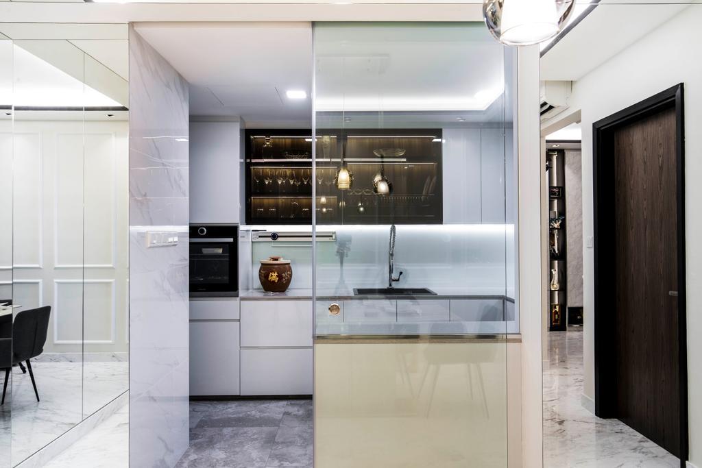 Condo, Kitchen, The Belvedere, Interior Designer, Sky Creation Asia