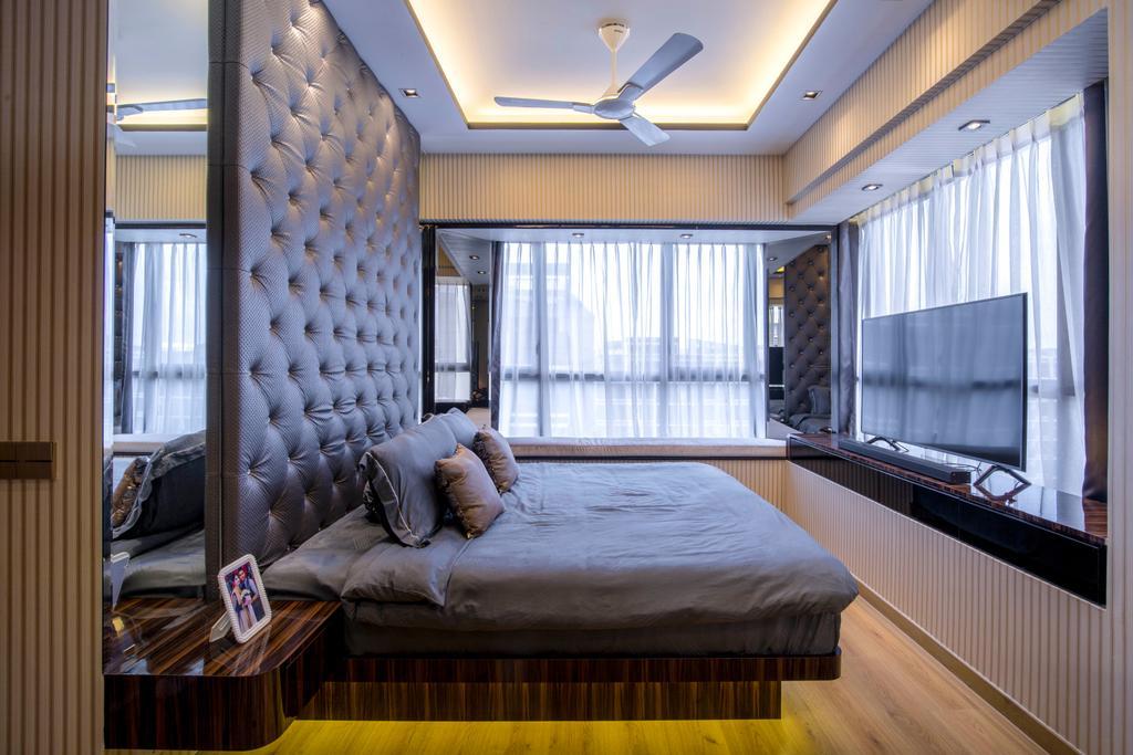 Transitional, Condo, Bedroom, Coco Palms, Interior Designer, Sky Creation Asia