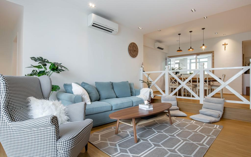 Modern, Condo, Living Room, Avila Gardens, Interior Designer, Posh Home, Scandinavian