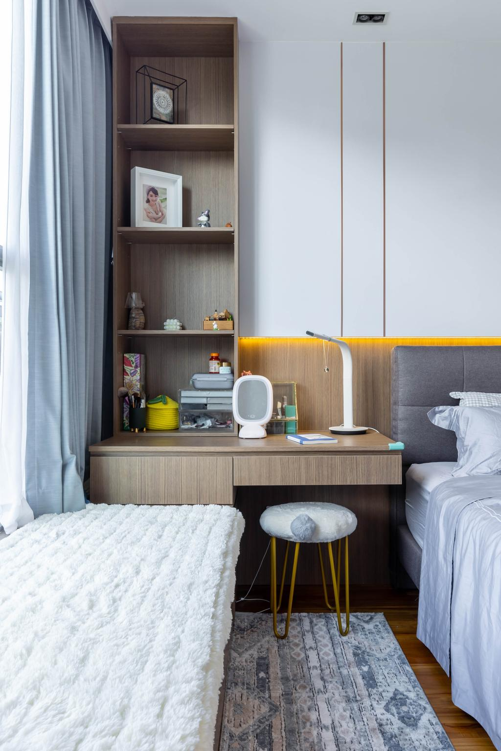 Modern, Landed, Bedroom, Hillcrest Road, Interior Designer, APH Projects, Contemporary