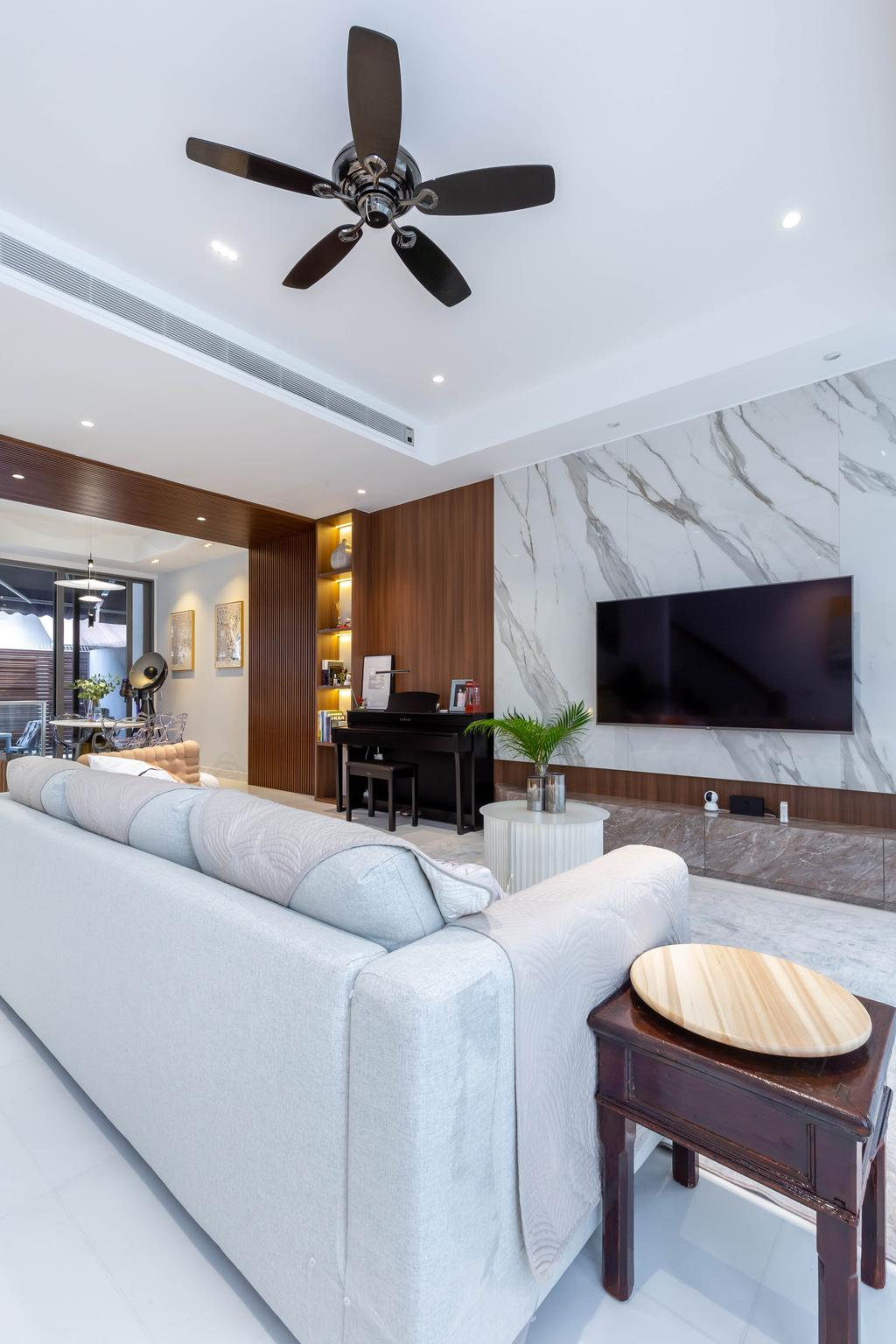 Modern, Landed, Living Room, Hillcrest Road, Interior Designer, APH Projects, Contemporary