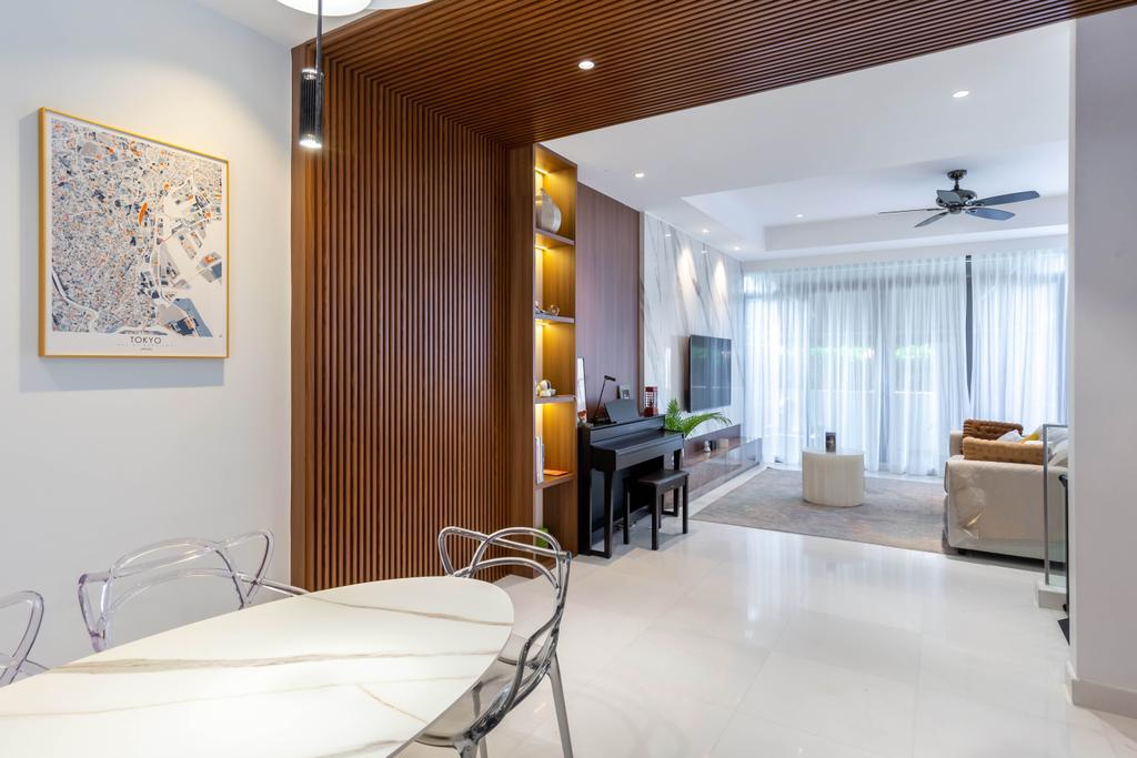 Modern, Landed, Dining Room, Hillcrest Road, Interior Designer, APH Projects, Contemporary