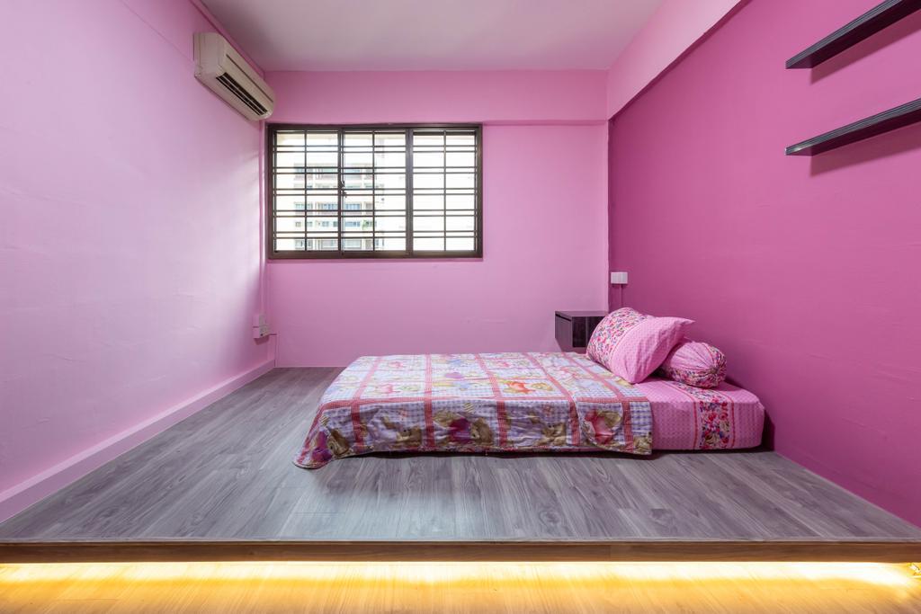 Modern, HDB, Bedroom, Hougang Avenue 2, Interior Designer, The Interior Place