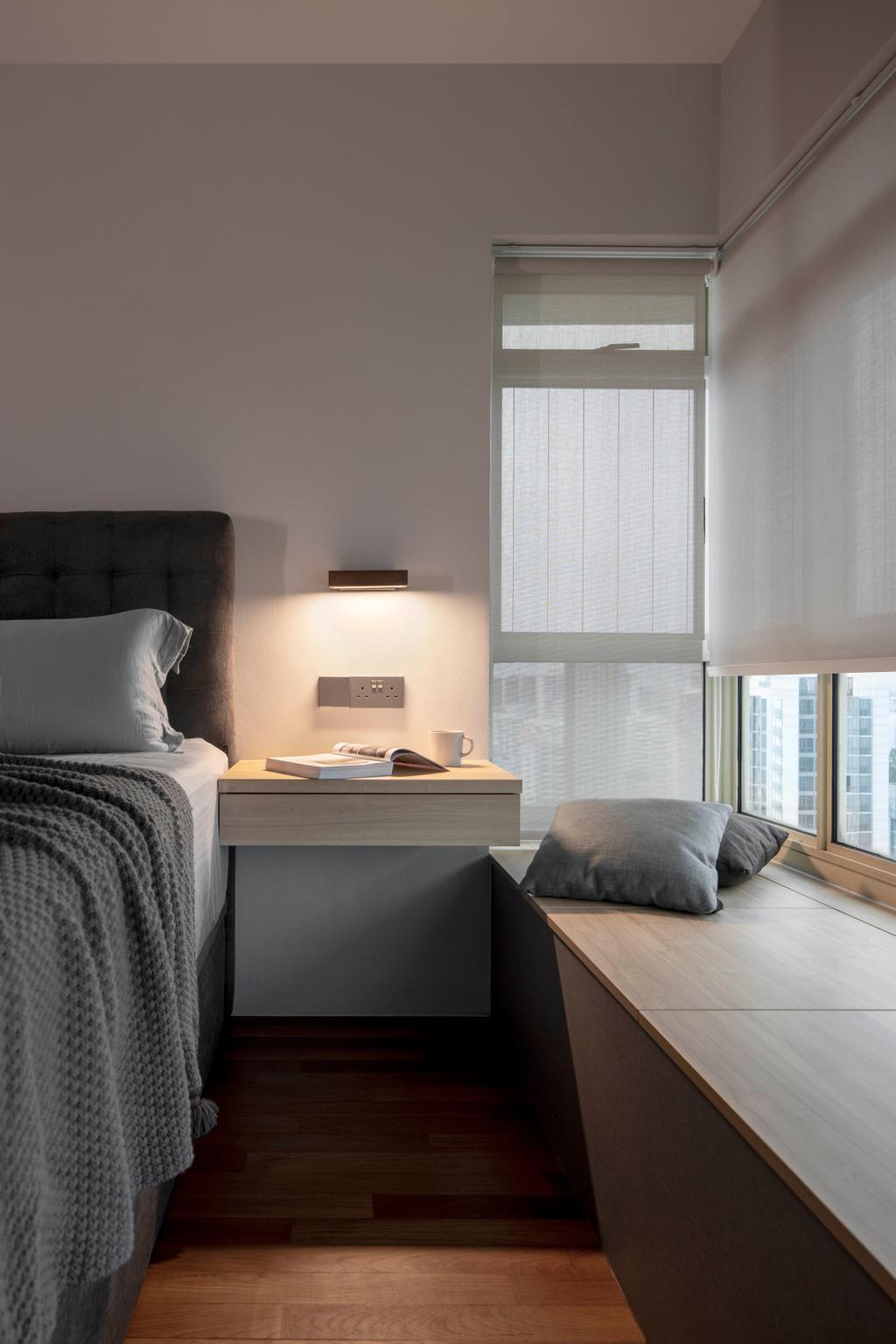 Modern, HDB, Bedroom, Jelebu Road, Interior Designer, Aestherior, Contemporary