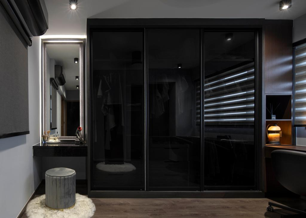 Contemporary, HDB, Yishun Street 42, Interior Designer, Aestherior