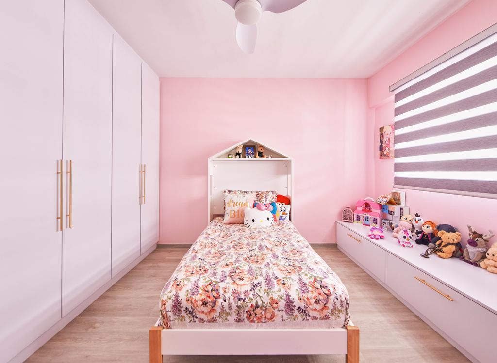 Contemporary, HDB, Bedroom, Yishun Street 61, Interior Designer, MET Interior, Kids Room