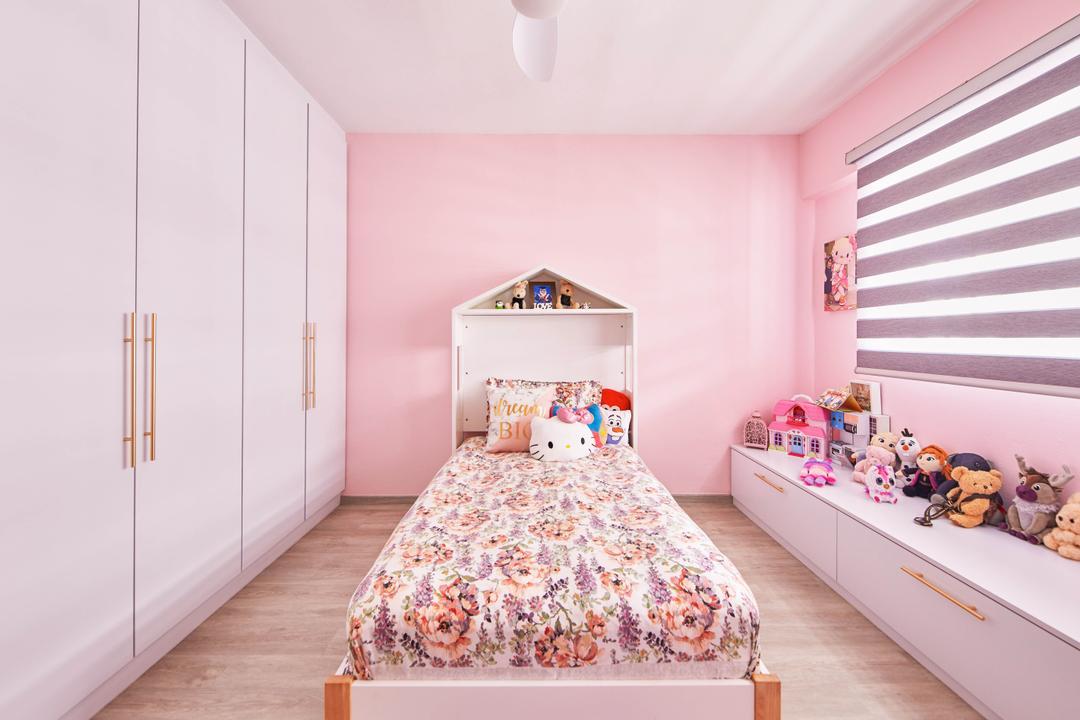 Yishun Street 61, MET Interior, Contemporary, Bedroom, HDB, Kids Room, Kids Room