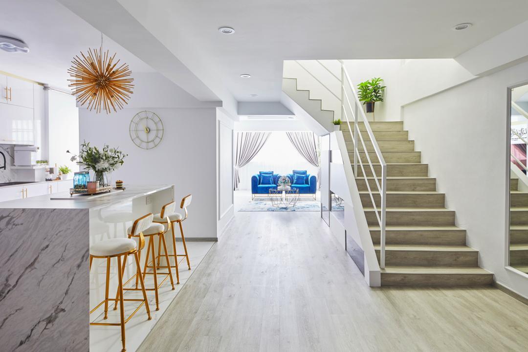Yishun Street 61, MET Interior, Contemporary, Kitchen, HDB, Maisonette