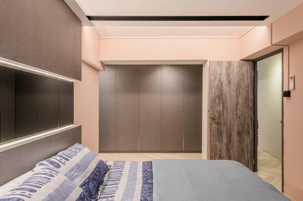 Contemporary, HDB, Bedroom, Canberra Drive, Interior Designer, Butler Interior