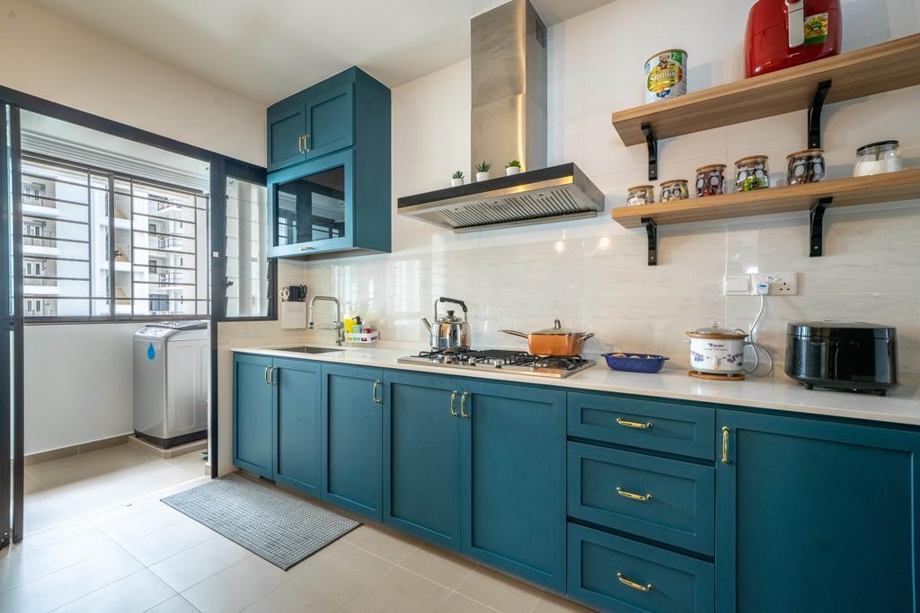Contemporary, HDB, Kitchen, Tampines Greenweave, Interior Designer, Design 4 Space
