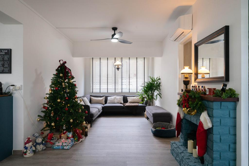 Modern, HDB, Living Room, Jurong West Street 73, Interior Designer, Design 4 Space, Contemporary