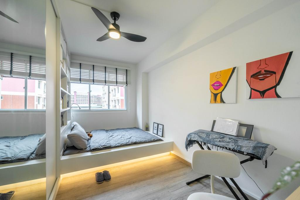 Modern, HDB, Bedroom, Jurong West Street 73, Interior Designer, Design 4 Space, Contemporary