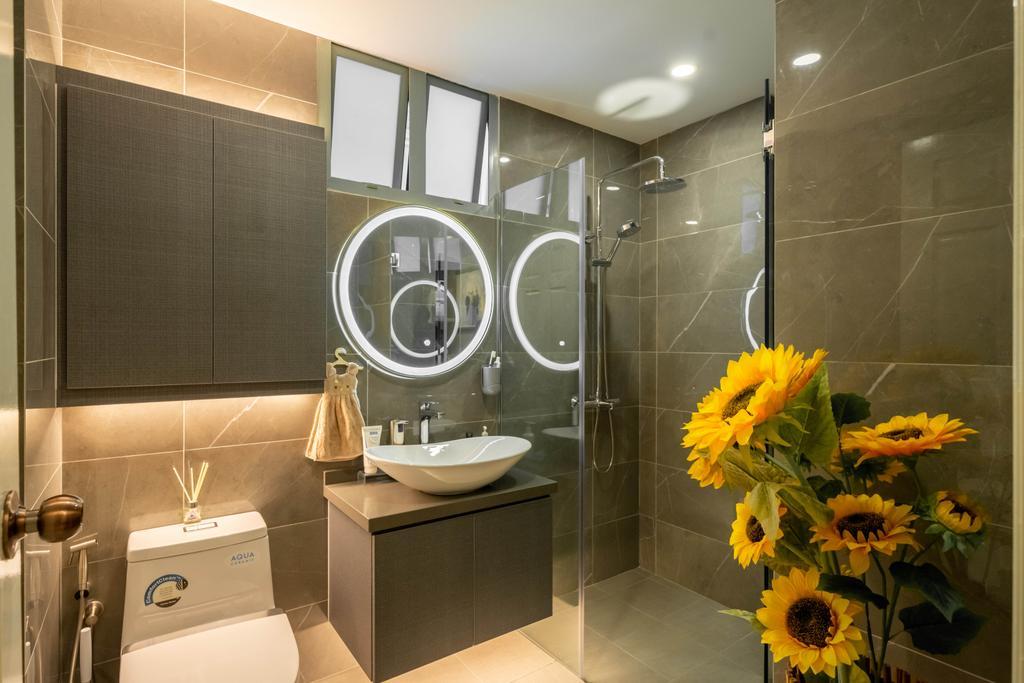 Modern, HDB, Bathroom, Hume Park I, Interior Designer, Design 4 Space