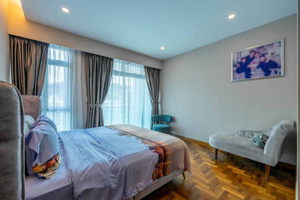 Modern, HDB, Bedroom, Hume Park I, Interior Designer, Design 4 Space