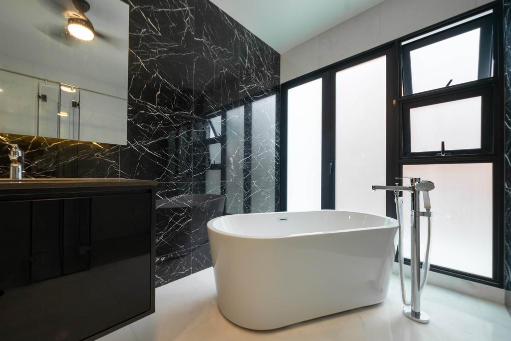 Modern, Landed, Bathroom, Jalan Redop, Interior Designer, Design 4 Space