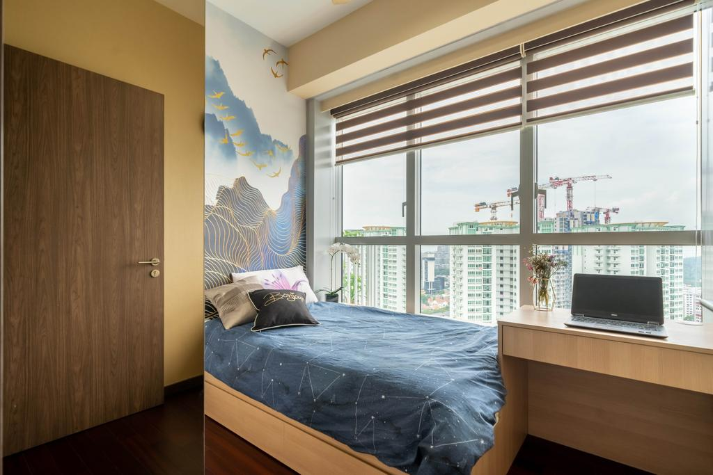 Modern, Condo, Bedroom, Queens Peak, Interior Designer, Design 4 Space