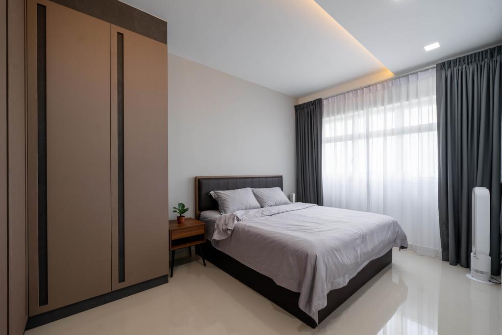 Modern, HDB, Bedroom, East Creek @ Canberra, Interior Designer, Design 4 Space, Contemporary