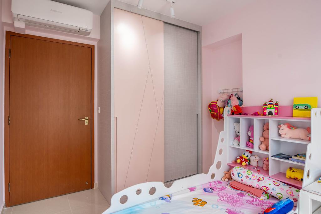 Modern, HDB, Bedroom, East Crown @ Canberra, Interior Designer, Design 4 Space