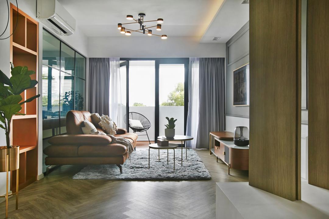 Wellington Circle Living Room Interior Design 4
