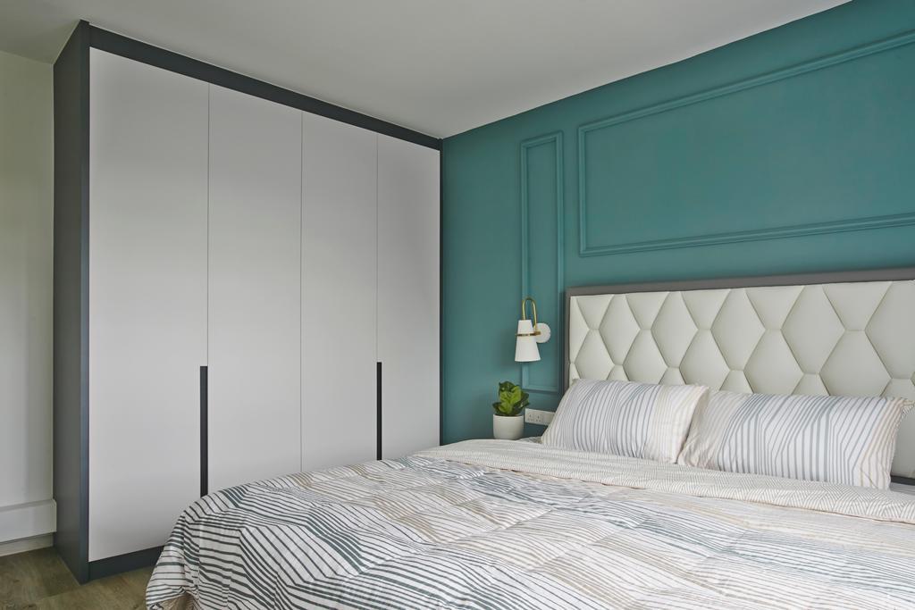 Contemporary, HDB, Bedroom, Wellington Circle, Interior Designer, Aart Boxx Interior