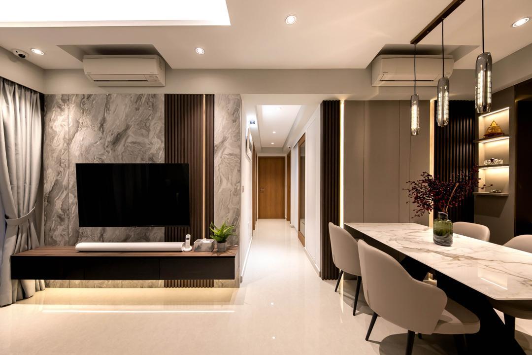 Rivercove Residences Living Room Interior Design 9
